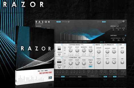Native Instrumentsのカッティングエッジな加算合成シンセ「RAZOR」