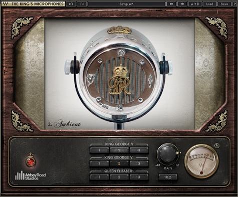 Wavesが英国王専用マイクをエミュレートした「The King's Microphones」をリリース!