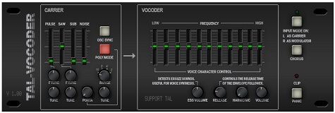 TAL(Togu Audio Line)が「TAL-Vocoder 2」を無償配布開始!
