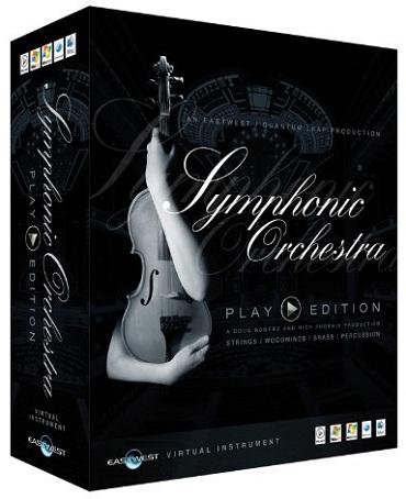 EASTWEST EW177 QUANTUM LEAP Symphonic Orchestra PLAY Edition (Platinum Plus Complet)
