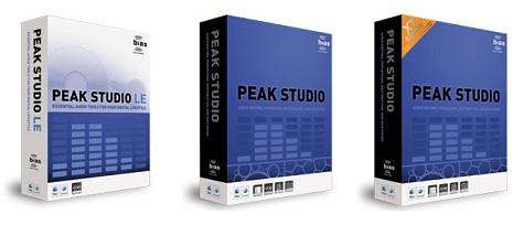 BIASのMac専用オーディオ編集・マスタリングソフト「Peak Studio」が発売!
