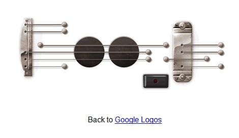 ギターの弾けるGoogleロゴが今後も公開に