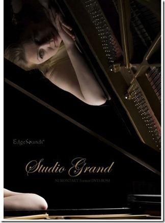 EdgeSoundsのピアノサウンドライブラリ「Studio Grand」