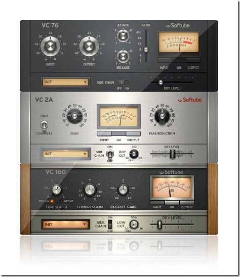 Native Instrumentsがビンテージ機器の名コンプレッサー3機種を再現した「VINTAGE COMPRESSORS」