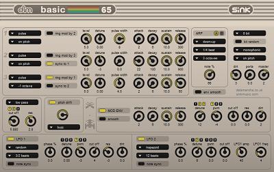 SIDチップをシミュレートしたモノシンセ「basic 65」