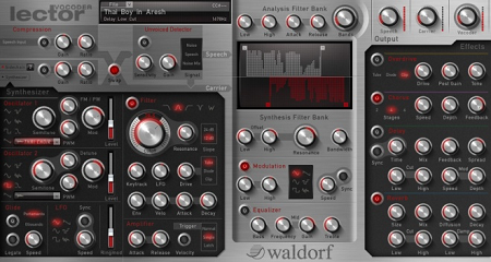 Waldorf社のボコーダーソフトウェア「LECTOR」