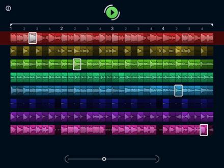 iPhone版よりさらにパワーアップしたiPad対応版「LoopMash HD」