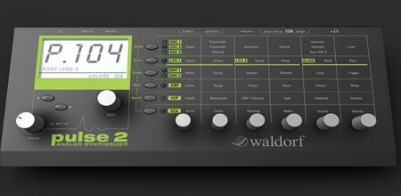 2012 NAMMにてWaldorfがアナログシンセ「pulse 2」を発表!