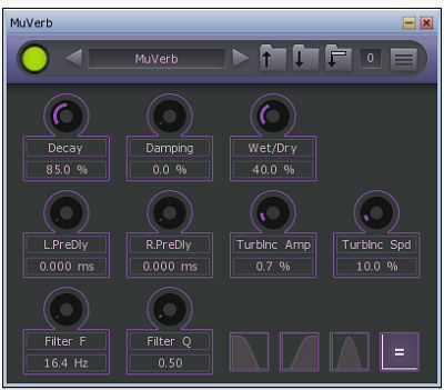MuToolsのVSTプラグインエフェクト「MuVerb」の単体版がリリース
