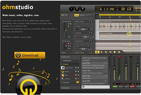 ネット上でコラボレーションもできるDAW「Ohm Studio」のβ版が公開!