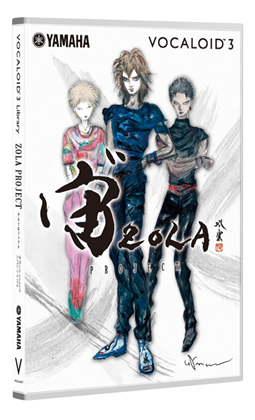 VOCALOID 3 Library ZOLA PROJECT