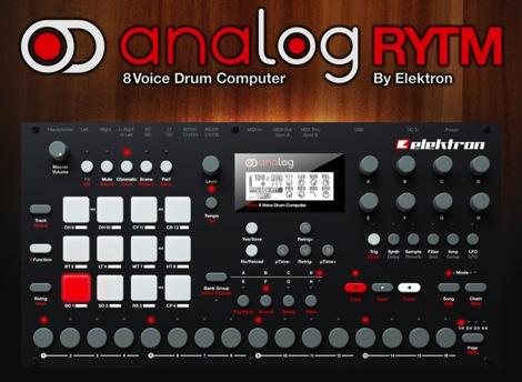 これ1台ですべてを可能にするアナログドラムマシン『Analog Rytm』