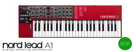 Clavia社の新型アナログモデリングシンセサイザー「Nord Lead A1」