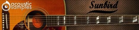 Gibson Hamming Birdをベースにしたアコースティックギター音源「Sunbird」