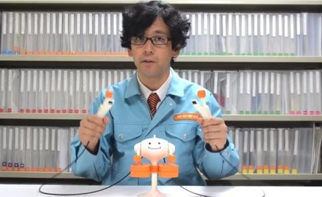 明和電機さんの新キャラクター楽器「Mr.ノッキー」が見てて楽しい
