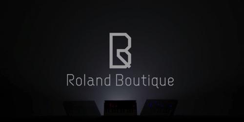 ローランドの新型シンセ「Boutique」