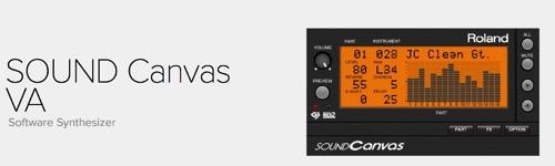 ローランドの「SOUND Canvas」がソフト音源化!「SOUND Canvas VA」として登場!